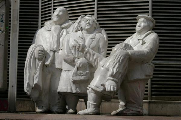 Sculptures au Forum des Halles (2)