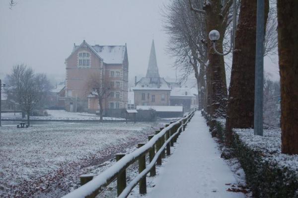 Il neige en Touraine