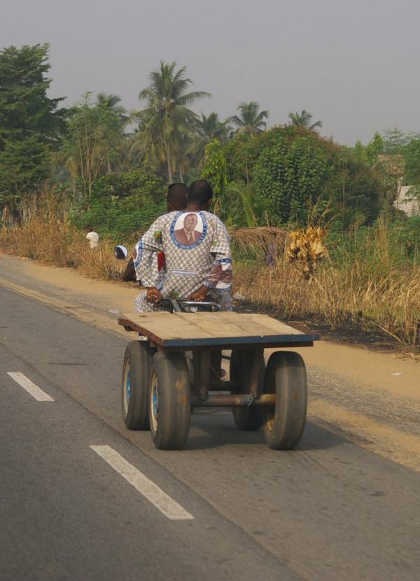 Sur la route de Lomé