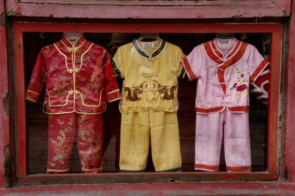 Pyjamas en soie