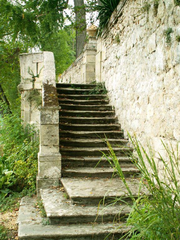 Le vieil escalier