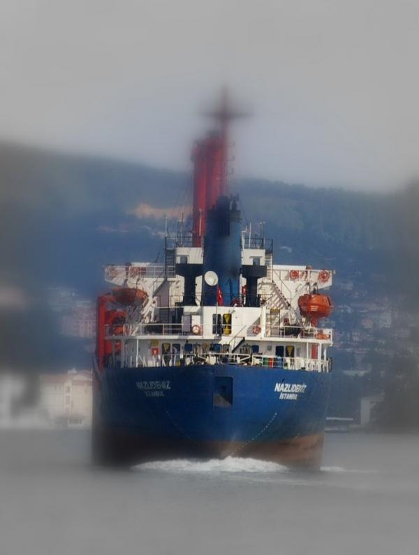 Cargo sur le Bosphore