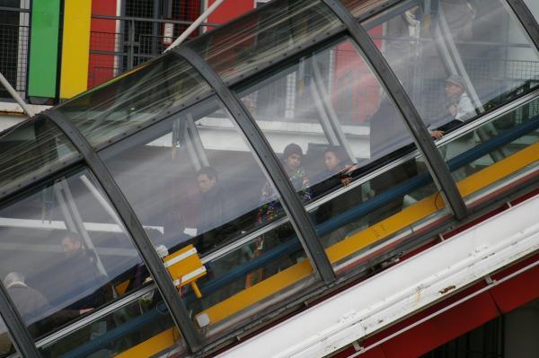 Escalator à Beaubourg