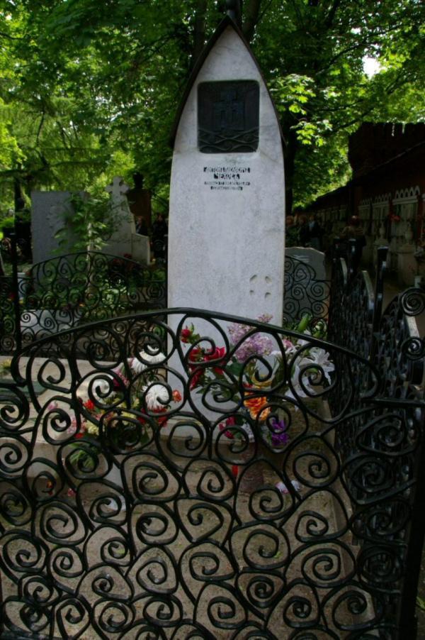 Tombe d'Anton Tchekhov