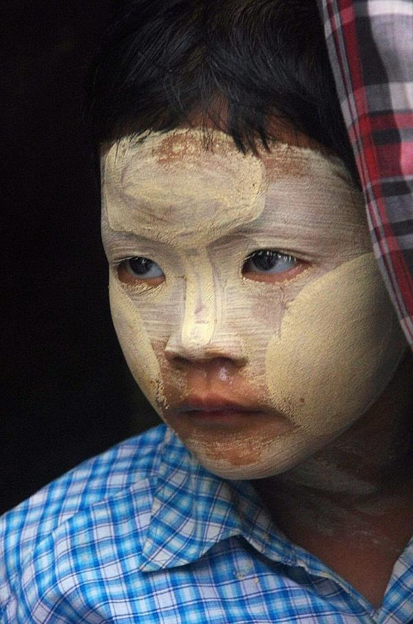 Regard de Birmanie