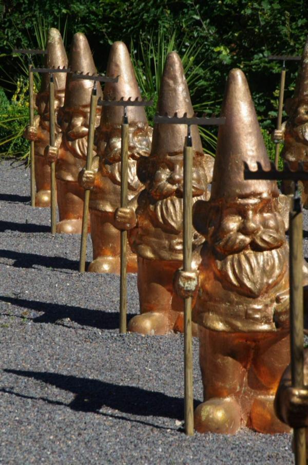 L'armée des nains de jardin
