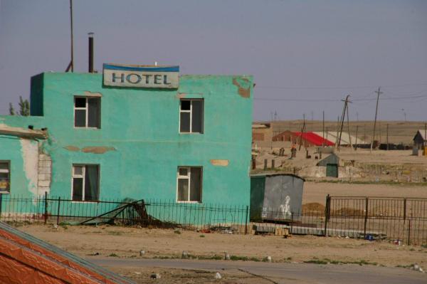 Hôtel en Mongolie