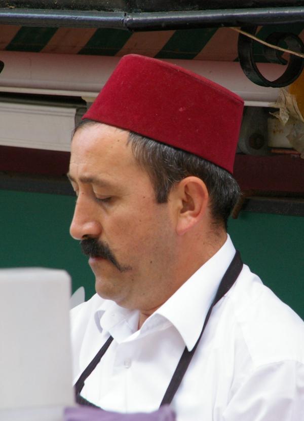 Le vendeur de kebab