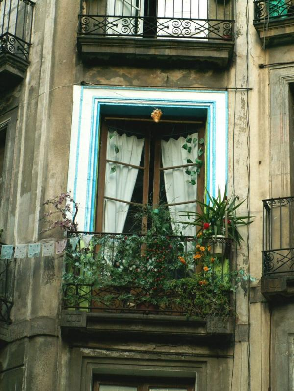 Dans une rue de Barcelone