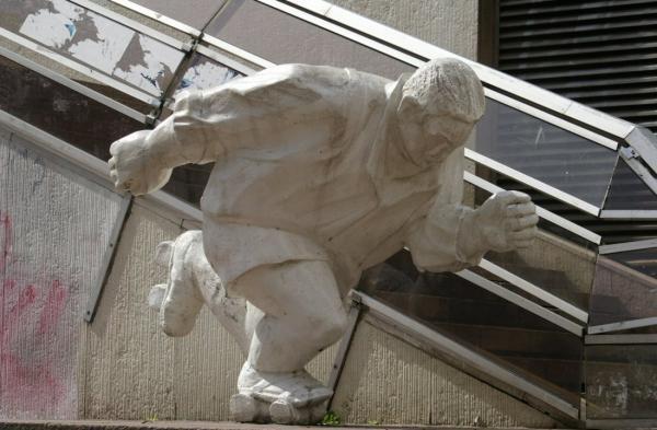 Sculptures au Forum des Halles (1)