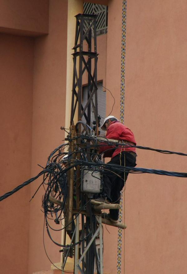 L'électricien