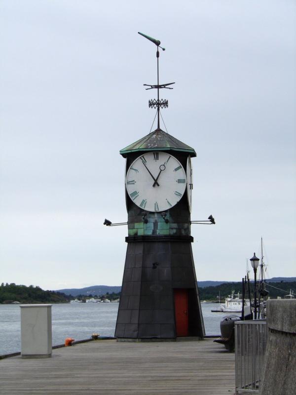 Il est bientôt 13h à Oslo