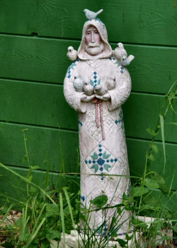 Dans le jardin d'Yvette