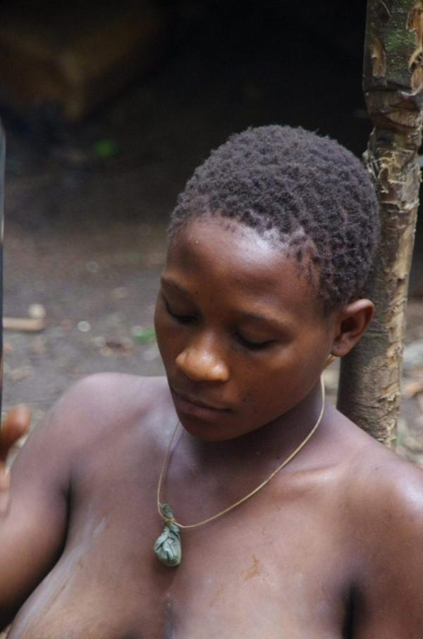 Chez les Pygmées Baka