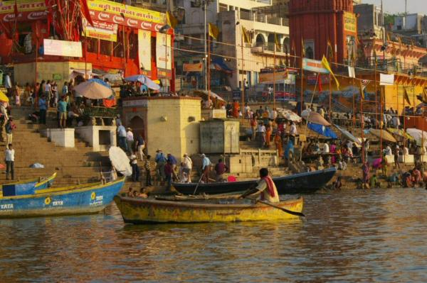 Le Gange à Bénarès