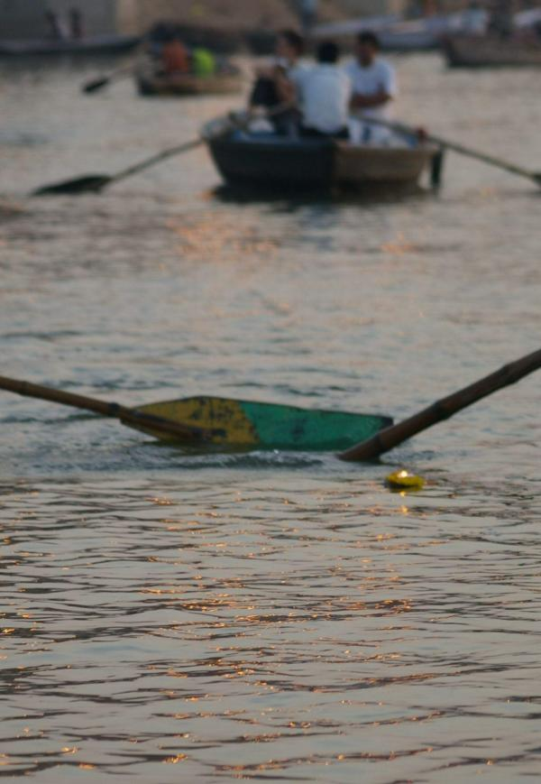 Bougie sur le Gange
