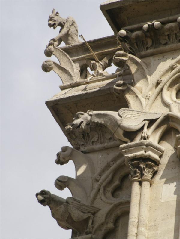 Les gargouilles de Notre-Dame (1)