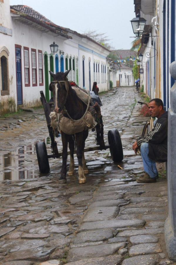 Dans les rues de Parati