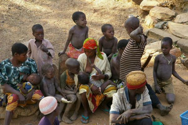 Dans un village au Bénin