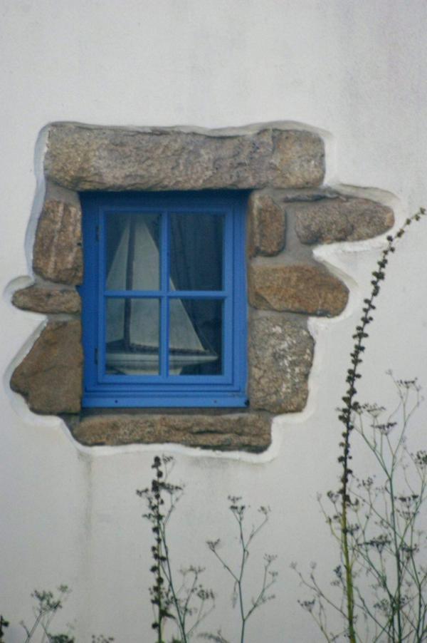 Fenêtre au bateau