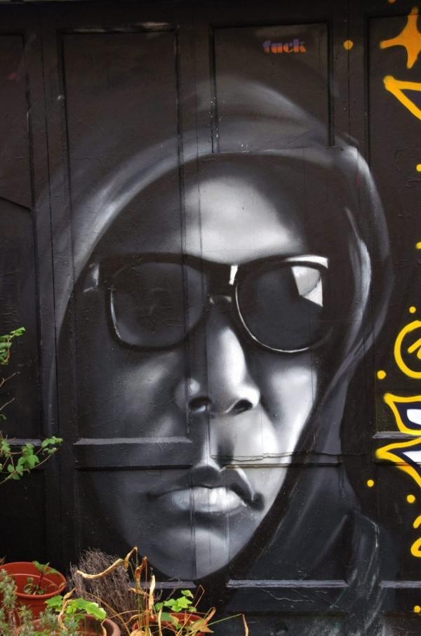 Sur les murs d'Amsterdam