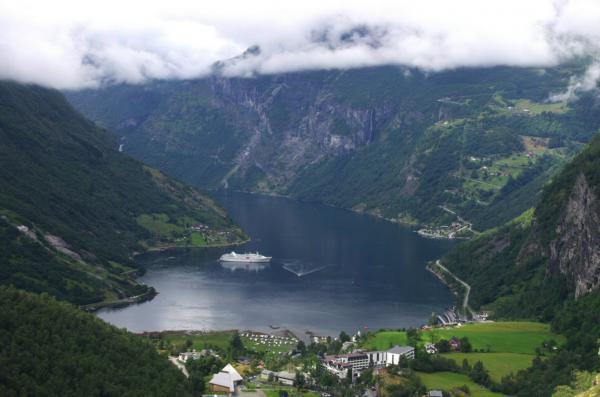 Fjord à Geiranger