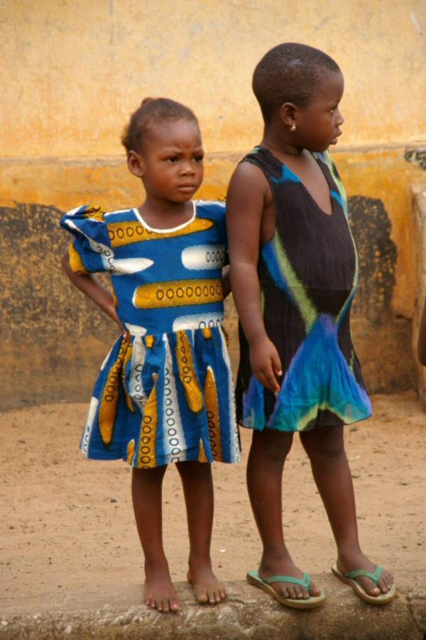 Enfants béninois