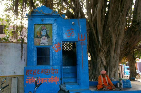 Petit temple dans la rue