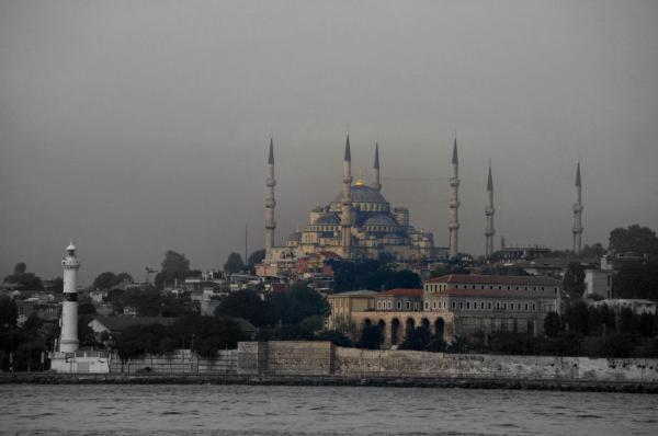 La mosquée Bleue (1)
