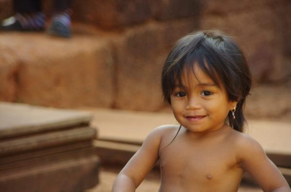 Sourire du Cambodge