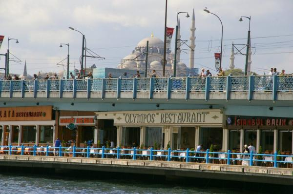 Pêcheurs à Istanbul