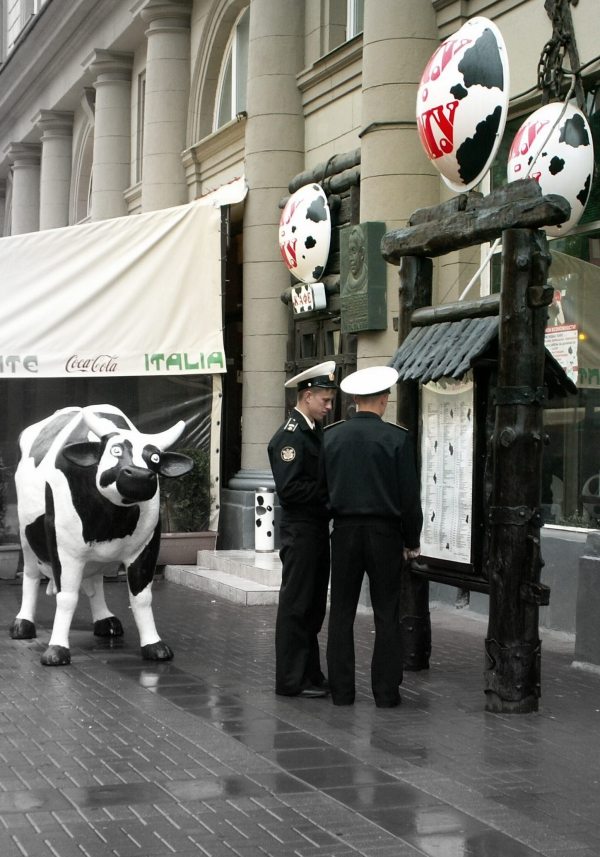 Dans la rue Arbat