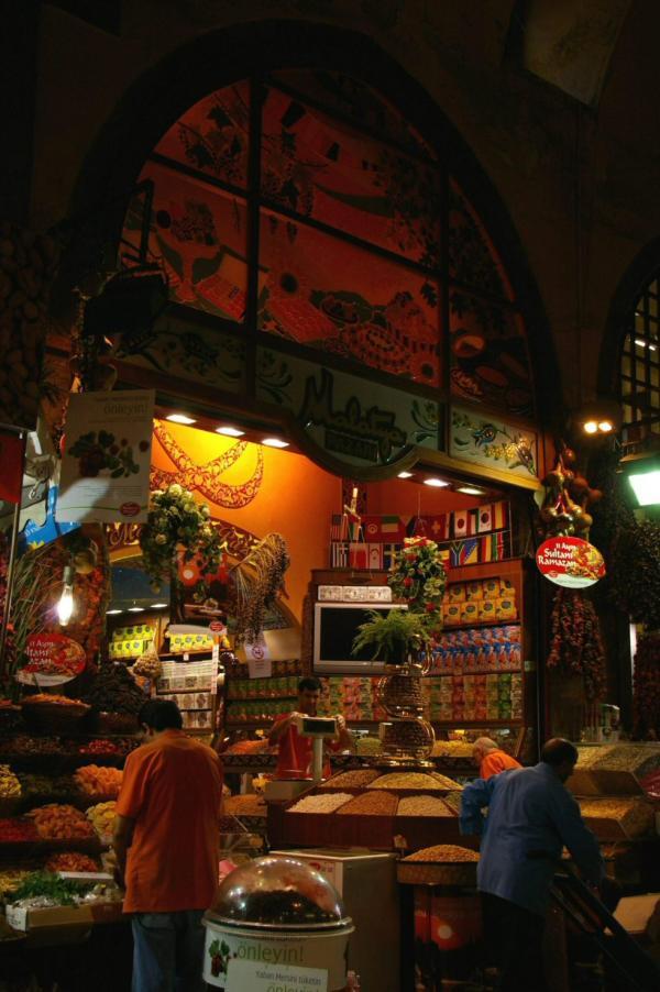 Dans le Bazar égyptien