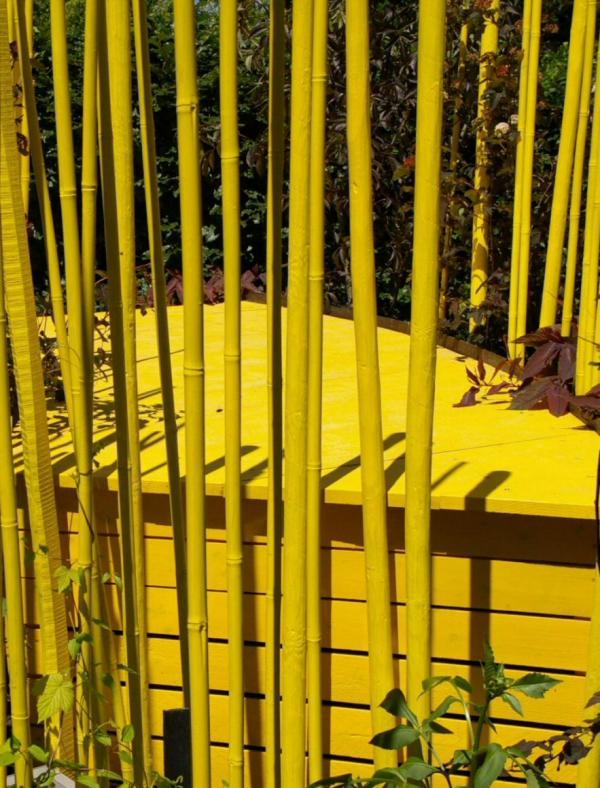 La couleur jaune