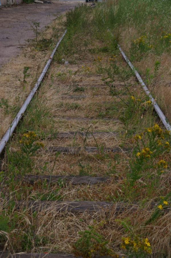 La voie désaffectée
