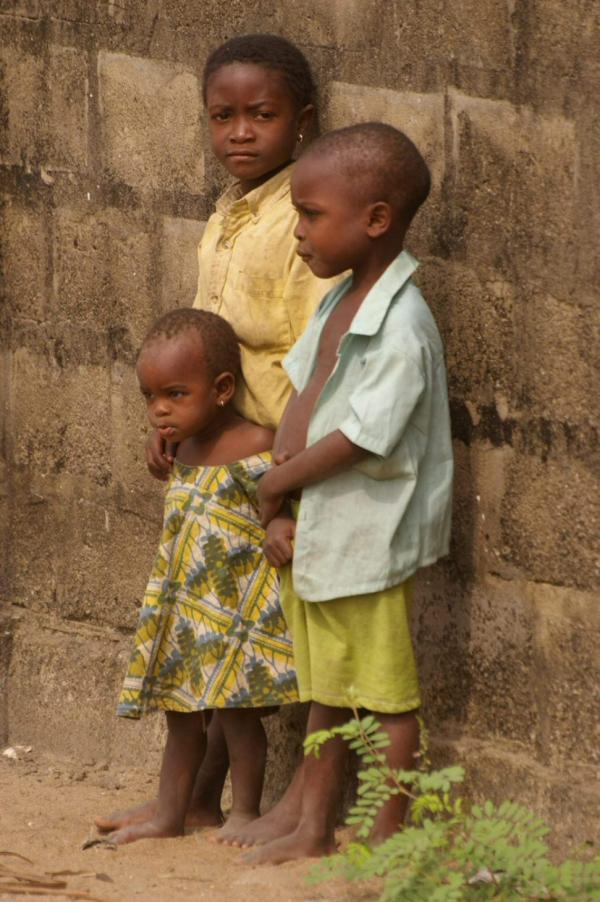 Enfants au Bénin