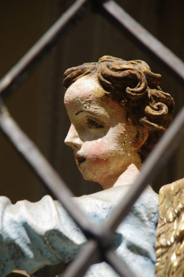 L'ange en cage