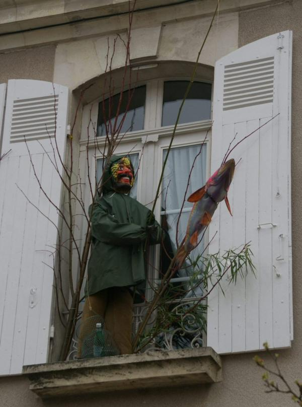 Pêcheur à la fenêtre