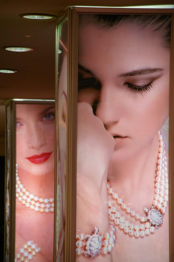Dans un magasin de perles