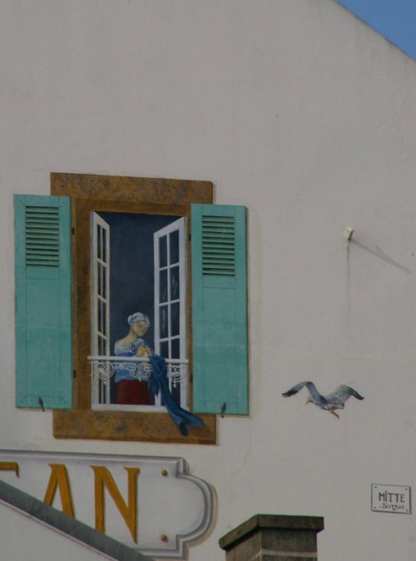 Fenêtre en trompe-l'œil -2-