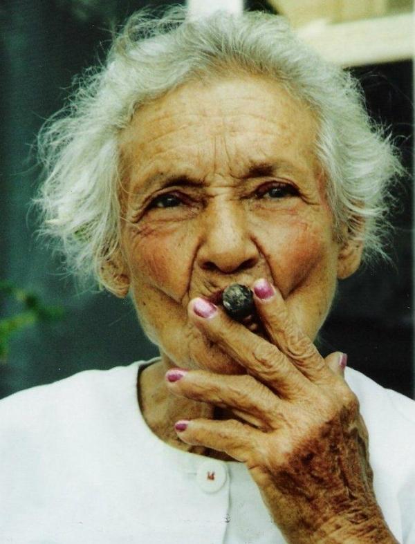 La fumeuse de Havane