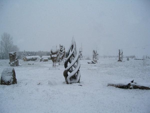 Sous la neige (2)