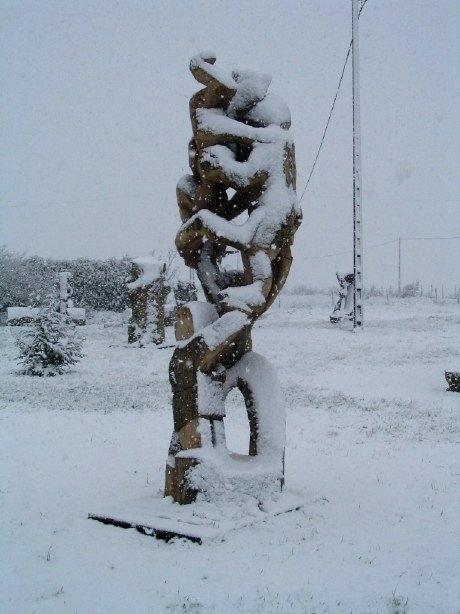 Sous la neige (6)