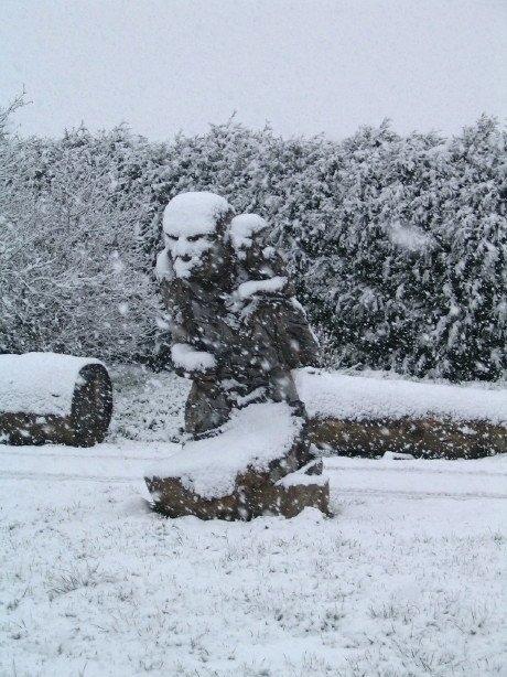 Sous la neige (8)