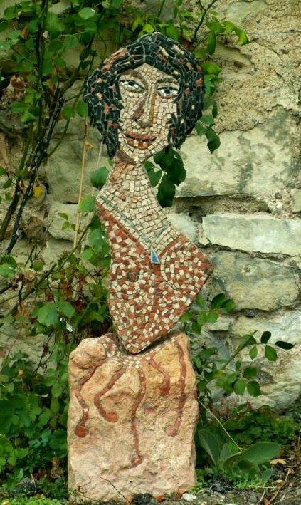 Mosaïque au jardin (5)
