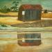 Cabane dans les marais salants